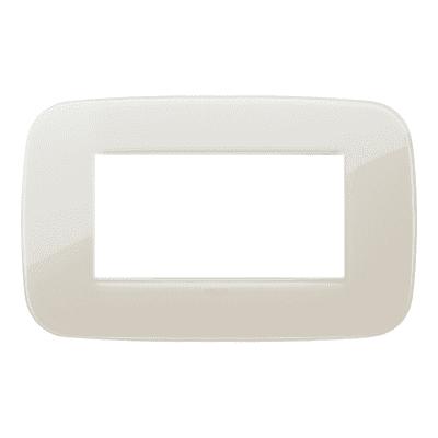 Placca VIMAR Arké 4 moduli reflex avorio