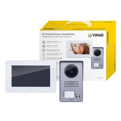 Videocitofono con filo a parete ELVOX VIMAR K40910