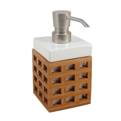 Dispenser sapone Fudji bianco