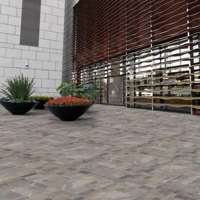 Piastrella Montana H 31 x L 31 cm PEI 4/5 grigio