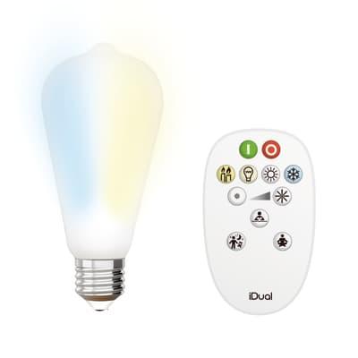 Lampadina Filamento LED E27 edison bianco 9W = 806LM (equiv 60W) 330° JEDI