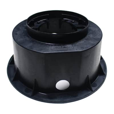 Controcassa Microfloor nero 20 cm