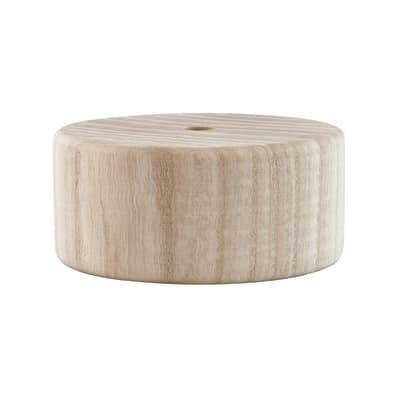 Rosone in legno beige