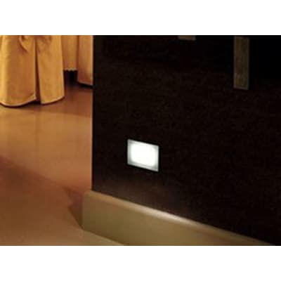 Faretto fisso da incasso quadrato Next LED integrato 6.6 cm 3W 270LM 1 x IP67