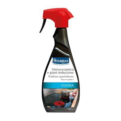 Detergente STARWAX Pulitore Vetroceramica e Piani Induzione per vetroceramica piastra a induzione 500 ml