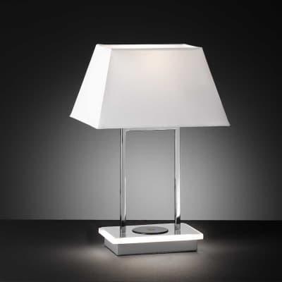 Lampada Da Tavolo Design Torquay Cromato Lucido Wofi Prezzo Online Leroy Merlin