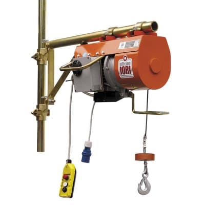 Paranco elettrico Monotiro DM 200 I Velox portata max 200 kg cavo da 40 m