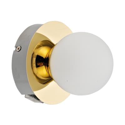 Applique classico Kapi oro, in metallo,  D. 11.1 cm 11 cm, INSPIRE