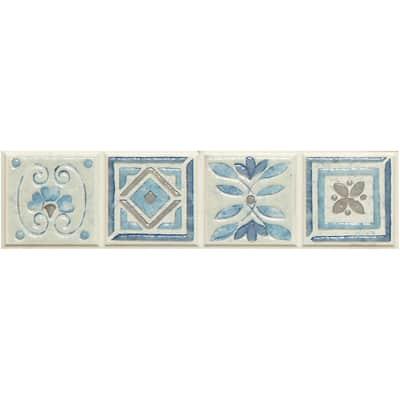 Listello Perù L 5 x H 20 cm azzurro