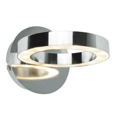 Applique Circey in metallo, LED integrato 4W 380LM IP21 INSPIRE