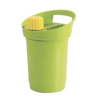 Pattumiera Oly manuale verde 3 L