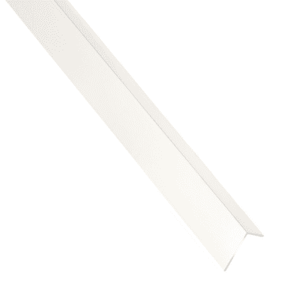 Profilo a l STANDERS in alluminio 2.6 m x 2.35 cm bianco