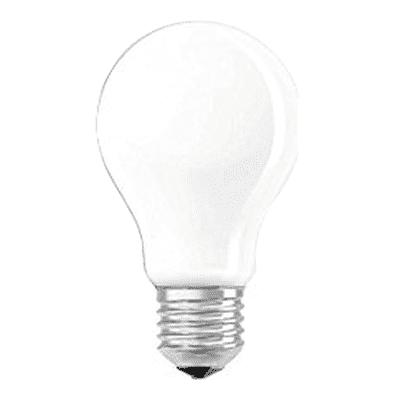 Lampadina LED filamento, E27, Goccia, Opaco, Luce calda, 4W=470LM (equiv 40 W), 320° , OSRAM