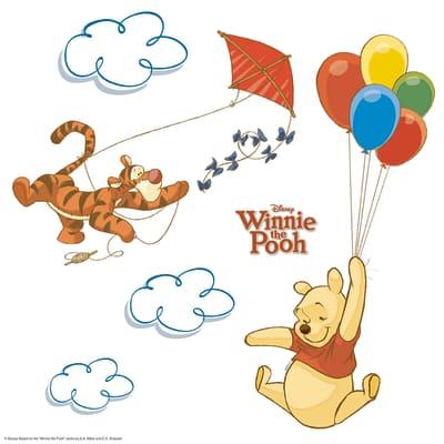 Sticker Winnie Pooh 31x31 cm