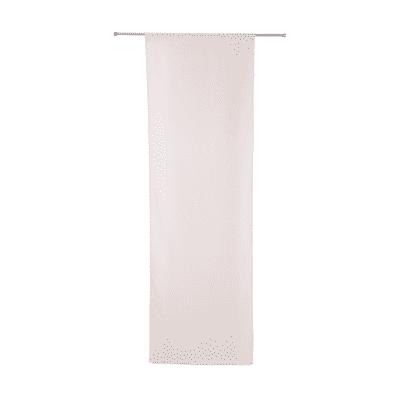 Tendina vetro Leo rosa tunnel 70 x 210 cm