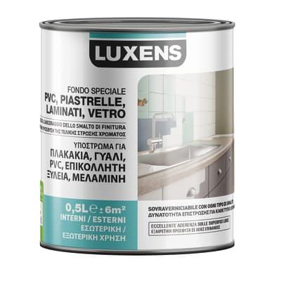 Primer precolorazione LUXENS base acqua interno / esterno per piastrelle, pvc, laminati, vetro 0.5 L