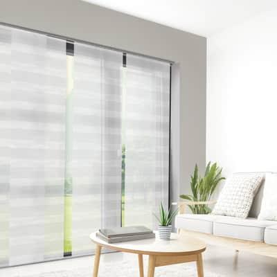 Pannello giapponese INSPIRE Lurex bianco 60x300 cm