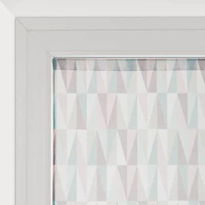 Tendina vetro Sofia multicolor tunnel 90 x 150 cm