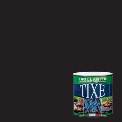 Smalto antiruggine TIXE Brillantix nero 0.25 L