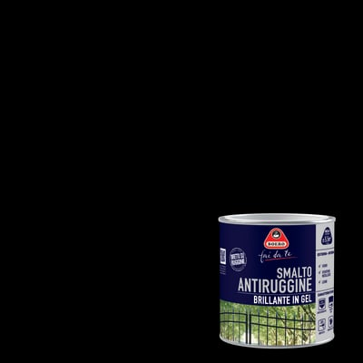 Smalto antiruggine BOERO FAI DA TE nero 0.5 L