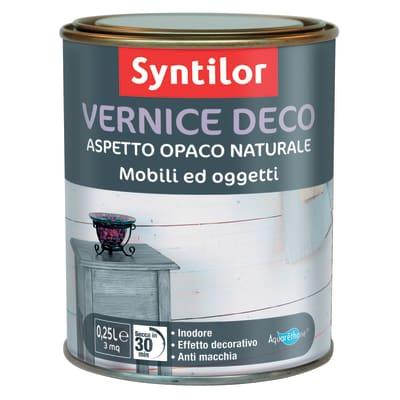 Vernice SYNTILOR Deco mobili e oggetti 0.25 L nero