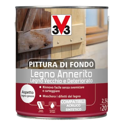 Trattamento legno V33 bianco 2.5 L