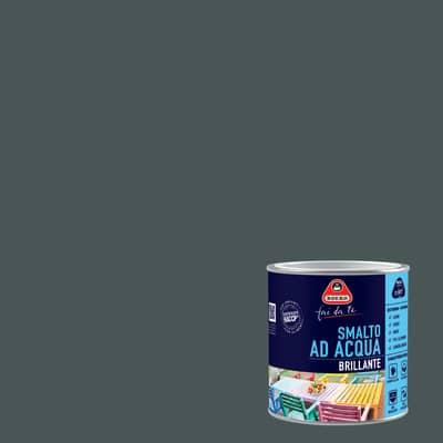 Smalto BOERO FAI DA TE base acqua grigio londra 0.5 L