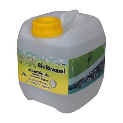 Insetticida liquido per zanzare, vespe, calabroni Bio Revanol diluibile 3000