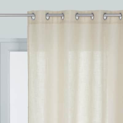 Tenda INSPIRE Charly beige occhielli 140 x 280 cm