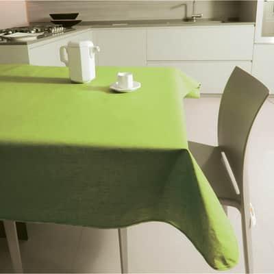 Tovaglia Monaco verde 140x220 cm
