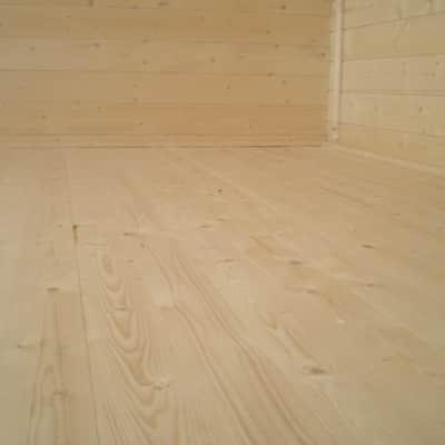 Pavimento per casetta estiva da giardino 249 x 253 x 16 cm