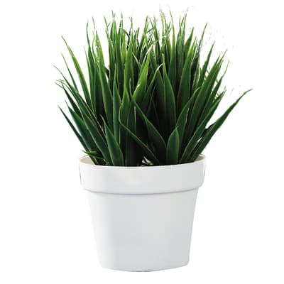 Pianta artificiale con vaso H 27 cm