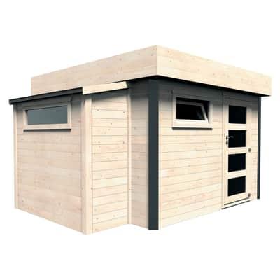 Casetta da giardino in legno Brean 10.21 m² spessore 28 mm