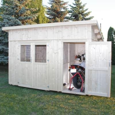 Casetta da giardino in legno Horn,  superficie interna 8.35 m² e spessore parete 19 mm