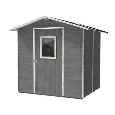 Casetta da giardino in legno Vaniglia,  superficie interna 4.75 m² e spessore parete 19 mm