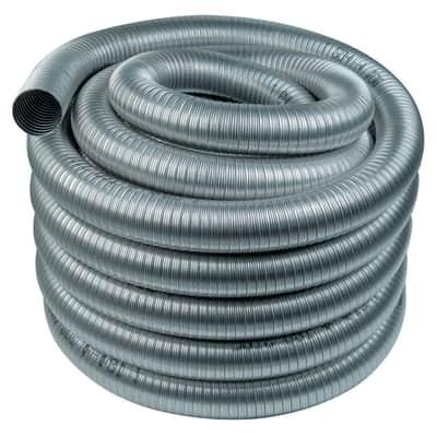 Tubo Rotolo da 30 m. di Tubo flessibile inox aisi 316L Dn 100 mm in inox 316l (elevata resistenza in condizioni climatiche estreme) Ø 80 mm