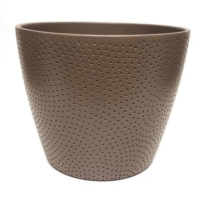 Portavaso Ion ALMAS S.A. in ceramica H 16 cm, Ø 19.5 cm