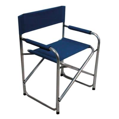 Sedie Da Regista Pieghevoli.Sedia Pieghevole In Alluminio Regista Colore Blu Prezzi E Offerte