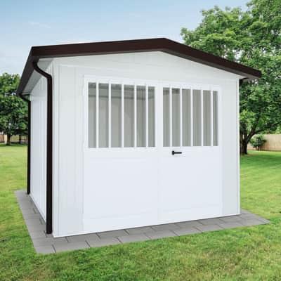 Garage in acciaio al carbonio Newport SAPIL 17.29 m², Sp 40 mm