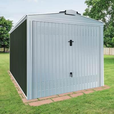 Garage in acciaio al carbonio Orlando SAPIL 12.26 m², Sp 0.6 mm