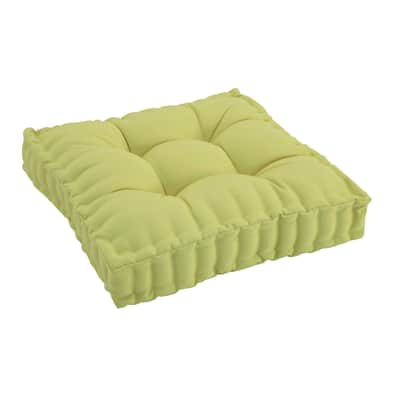 Cuscino per sedia Marjorie verde chiaro 60x10 cm