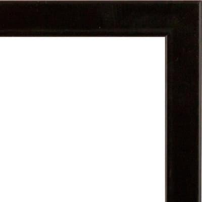 Cornice Baux nero per foto da 30x90 cm