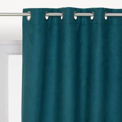 Tenda INSPIRE Newmanchester azzurro occhielli 140 x 280 cm