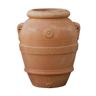 Orcio Imprunetino in terracotta colore cotto H 120 cm, L 110 x P 110 cm