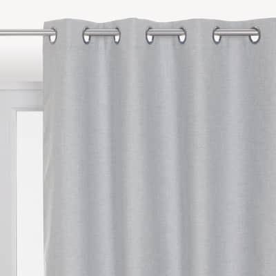 Tenda INSPIRE Oscurante cardiff grigio occhielli 140 x 280 cm