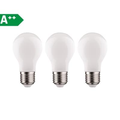 Lampadina LED filamento E27 standard bianco caldo 11W = 1521LM (equiv 100W) 360° LEXMAN, 3 pezzi