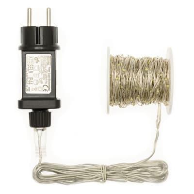 Catena luminosa 300 lampadine LED bianco freddo 22.5 m