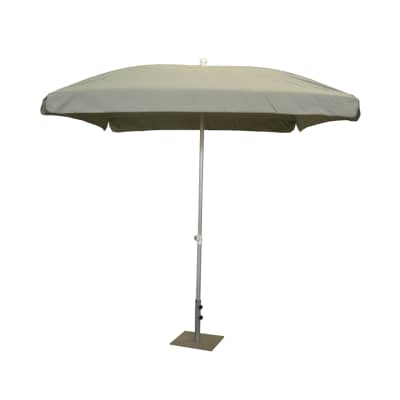 Ombrellone NATERIAL Ita 003 L 2.15 x P 2.15 m color grigio
