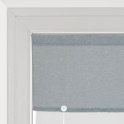 Tendina vetro Aurelia grigio tunnel 58x240 cm