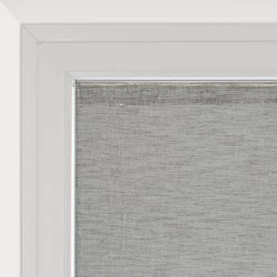 Tendina vetro Cambogia grigio tunnel 60 x 230 cm